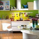 Фото Цветы в интерьере кухни от 26.09.2018 №212 - Flowers in the interior - design-foto.ru