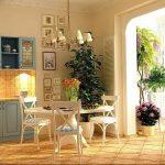 Фото Цветы в интерьере кухни от 26.09.2018 №214 - Flowers in the interior - design-foto.ru