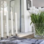 Фото Цветы в интерьере кухни от 26.09.2018 №220 - Flowers in the interior - design-foto.ru