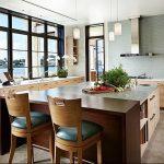 Фото Цветы в интерьере кухни от 26.09.2018 №224 - Flowers in the interior - design-foto.ru