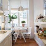 Фото Цветы в интерьере кухни от 26.09.2018 №225 - Flowers in the interior - design-foto.ru