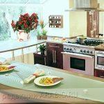 Фото Цветы в интерьере кухни от 26.09.2018 №229 - Flowers in the interior - design-foto.ru