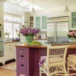 Фото Цветы в интерьере кухни от 26.09.2018 №230 - Flowers in the interior - design-foto.ru