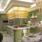 Фото Цветы в интерьере кухни от 26.09.2018 №235 - Flowers in the interior - design-foto.ru