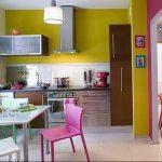 Фото Цветы в интерьере кухни от 26.09.2018 №240 - Flowers in the interior - design-foto.ru