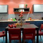 Фото Цветы в интерьере кухни от 26.09.2018 №242 - Flowers in the interior - design-foto.ru