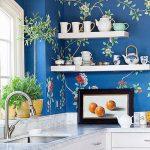 Фото Цветы в интерьере кухни от 26.09.2018 №246 - Flowers in the interior - design-foto.ru