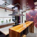 Фото Цветы в интерьере кухни от 26.09.2018 №255 - Flowers in the interior - design-foto.ru