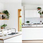 Фото Цветы в интерьере кухни от 26.09.2018 №257 - Flowers in the interior - design-foto.ru