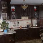 Фото Цветы в интерьере кухни от 26.09.2018 №259 - Flowers in the interior - design-foto.ru