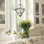 Фото Цветы в интерьере кухни от 26.09.2018 №261 - Flowers in the interior - design-foto.ru