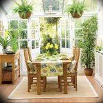Фото Цветы в интерьере кухни от 26.09.2018 №269 - Flowers in the interior - design-foto.ru