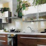 Фото Цветы в интерьере кухни от 26.09.2018 №270 - Flowers in the interior - design-foto.ru