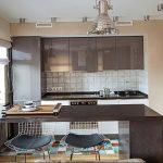 Фото Цветы в интерьере кухни от 26.09.2018 №278 - Flowers in the interior - design-foto.ru