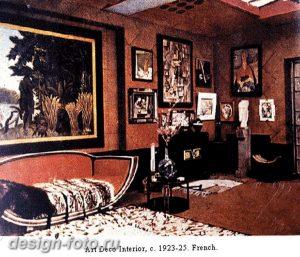 фото Стиль Арт-деко в интерьере 21.01.2019 №251 - Art Deco style - design-foto.ru