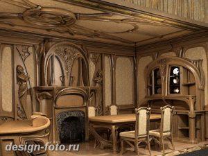 фото Стиль модерн в интерьере 21.01.2019 №058 - Art Nouveau in interior - design-foto.ru