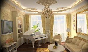 Фото Красивые интерьеры 16.10.2018 №453 - Beautiful interiors of apartmen - design-foto.ru