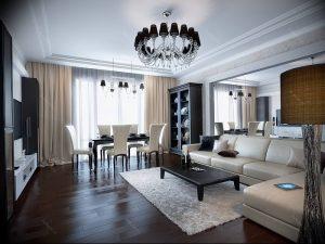 Фото Красивые интерьеры 16.10.2018 №501 - Beautiful interiors of apartmen - design-foto.ru