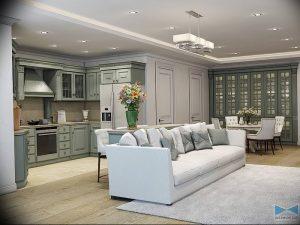Фото Красивые интерьеры 16.10.2018 №512 - Beautiful interiors of apartmen - design-foto.ru