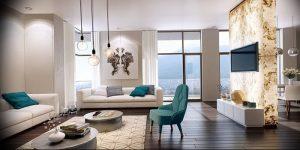 Фото Красивые интерьеры 16.10.2018 №624 - Beautiful interiors of apartmen - design-foto.ru