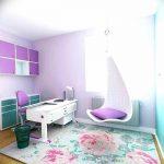 Фото Интерьер комнаты для девушки 24.11.2018 №205 - room for a girl - design-foto.ru