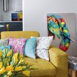 Фото Яркий стиль в интерьере 10.11.2018 №030 - Bright style in the interior - design-foto.ru