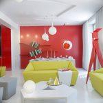 Фото Яркий стиль в интерьере 10.11.2018 №468 - Bright style in the interior - design-foto.ru