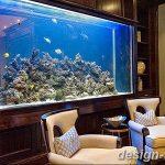 фото Аквариум в интерьере 28.11.2018 №006 - photo Aquarium in the interior - design-foto.ru