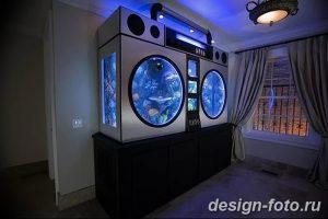 фото Аквариум в интерьере 28.11.2018 №007 - photo Aquarium in the interior - design-foto.ru