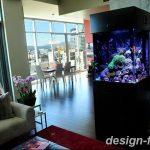 фото Аквариум в интерьере 28.11.2018 №017 - photo Aquarium in the interior - design-foto.ru