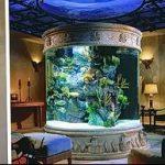 фото Аквариум в интерьере 28.11.2018 №023 - photo Aquarium in the interior - design-foto.ru