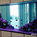 фото Аквариум в интерьере 28.11.2018 №032 - photo Aquarium in the interior - design-foto.ru