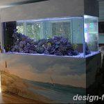 фото Аквариум в интерьере 28.11.2018 №053 - photo Aquarium in the interior - design-foto.ru