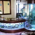 фото Аквариум в интерьере 28.11.2018 №054 - photo Aquarium in the interior - design-foto.ru