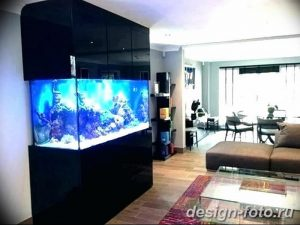 фото Аквариум в интерьере 28.11.2018 №097 - photo Aquarium in the interior - design-foto.ru