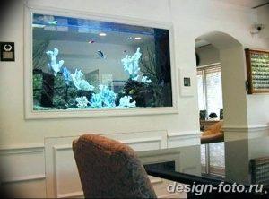 фото Аквариум в интерьере 28.11.2018 №105 - photo Aquarium in the interior - design-foto.ru