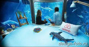 фото Аквариум в интерьере 28.11.2018 №107 - photo Aquarium in the interior - design-foto.ru