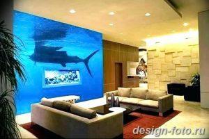фото Аквариум в интерьере 28.11.2018 №123 - photo Aquarium in the interior - design-foto.ru