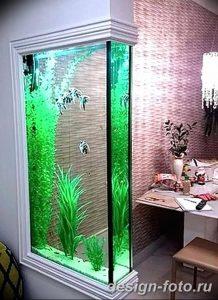 фото Аквариум в интерьере 28.11.2018 №147 - photo Aquarium in the interior - design-foto.ru