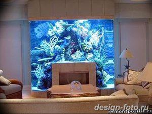 фото Аквариум в интерьере 28.11.2018 №166 - photo Aquarium in the interior - design-foto.ru