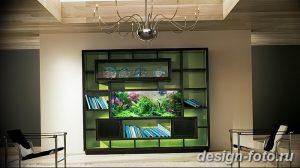 фото Аквариум в интерьере 28.11.2018 №168 - photo Aquarium in the interior - design-foto.ru