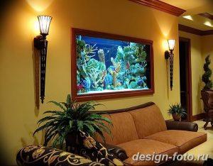 фото Аквариум в интерьере 28.11.2018 №188 - photo Aquarium in the interior - design-foto.ru