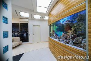 фото Аквариум в интерьере 28.11.2018 №206 - photo Aquarium in the interior - design-foto.ru