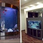 фото Аквариум в интерьере 28.11.2018 №210 - photo Aquarium in the interior - design-foto.ru