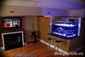 фото Аквариум в интерьере 28.11.2018 №227 - photo Aquarium in the interior - design-foto.ru