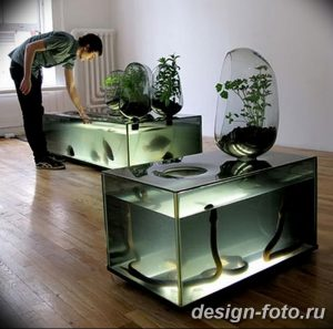 фото Аквариум в интерьере 28.11.2018 №231 - photo Aquarium in the interior - design-foto.ru
