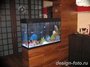 фото Аквариум в интерьере 28.11.2018 №253 - photo Aquarium in the interior - design-foto.ru