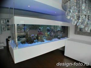 фото Аквариум в интерьере 28.11.2018 №273 - photo Aquarium in the interior - design-foto.ru
