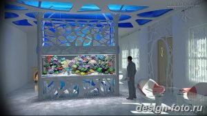 фото Аквариум в интерьере 28.11.2018 №287 - photo Aquarium in the interior - design-foto.ru