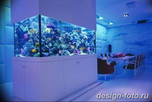 фото Аквариум в интерьере 28.11.2018 №296 - photo Aquarium in the interior - design-foto.ru